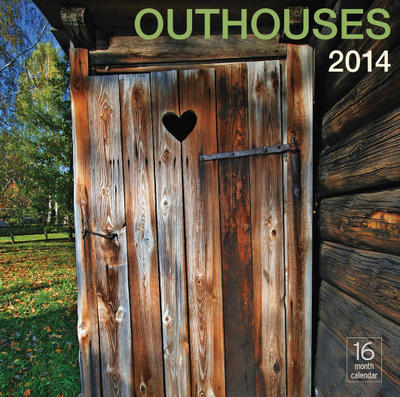 Outhouses Wall Calendar 2014
