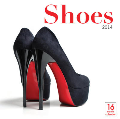 Shoes Wall Calendar 2014