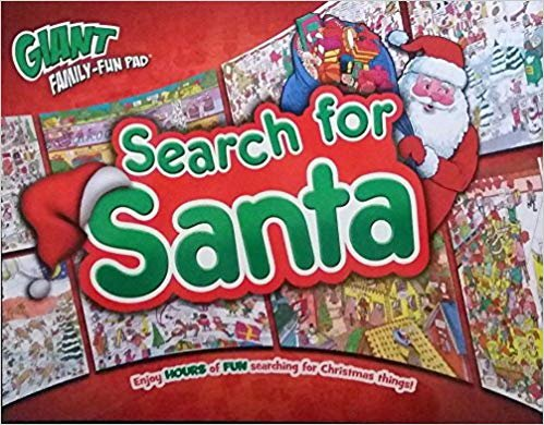 Search for Santa Giant Family-Fun Pad