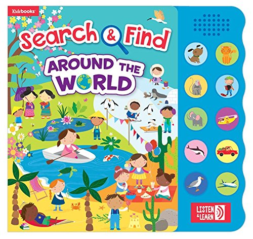 Around the World (Search & Find, Listen & Learn)