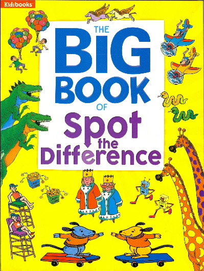 The Big Book of Spot the Difference (Big Books)