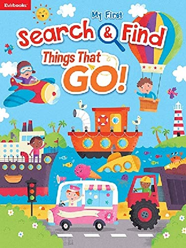 Things That Go! (My First Search & Find)
