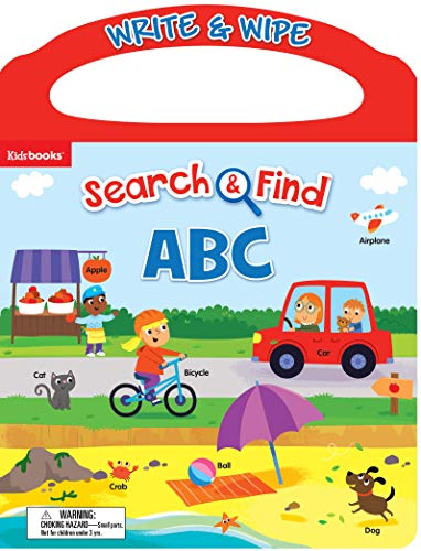 ABC: Search and Find (Write & Wipe Carry-Along)