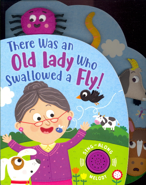 There Was An Old Lady Who Swallowed a Fly! Sing-Along Melody