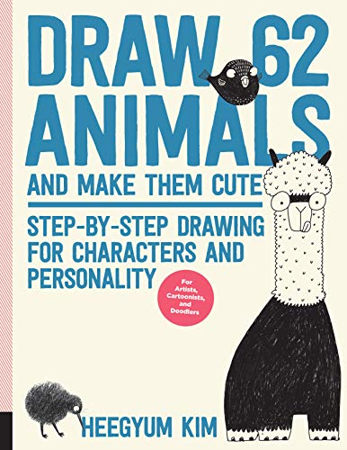 Draw 62 Animals and Make Them Cute