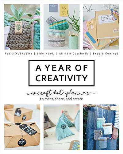 A Year of Creativity: A Craft Date Planner to Meet, Share, and Create