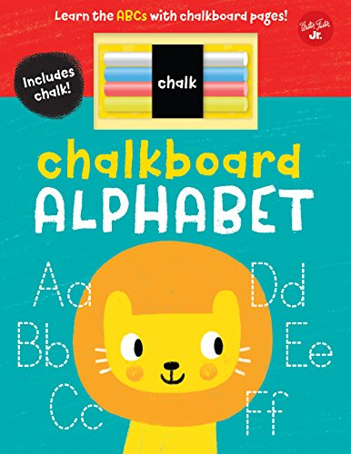 Chalkboard Alphabet: Learn the ABCs with Chalkboard Pages! (Chalkboard Concepts)