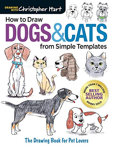 How to Draw Dogs & Cats from Simple Templates (Drawing with Christopher Hart)