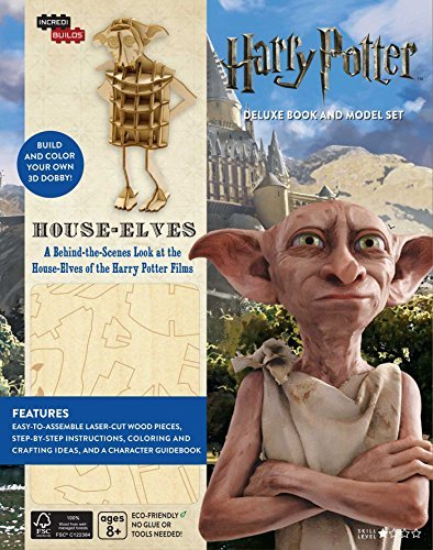 House-Elves: Harry Potter Deluxe Book and Model Set (Incredibuilds)