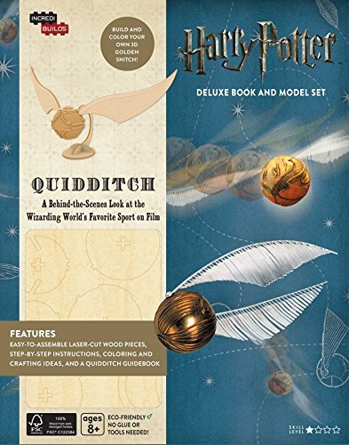 Harry Potter: Quidditch Deluxe Book and Model Set (IncrediBuilds)