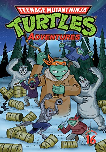 Teenage Mutant Ninja Turtles Adventures (Volume 16)
