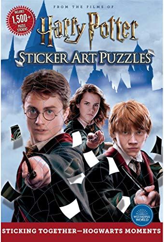 Sticker Art Puzzles: From the Films of Harry Potter