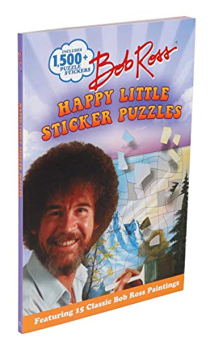 Bob Ross Happy Little Sticker Puzzles (Sticker Art Puzzles)
