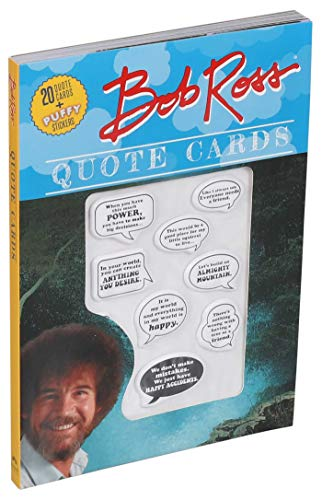 Bob Ross Quote Cards