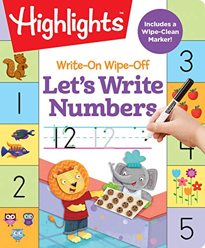 Let's Write Numbers (Write-On, Wipe-Off with Marker)