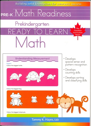 Prekindergarten Math (Ready to Learn Canadian Curriculum Series)