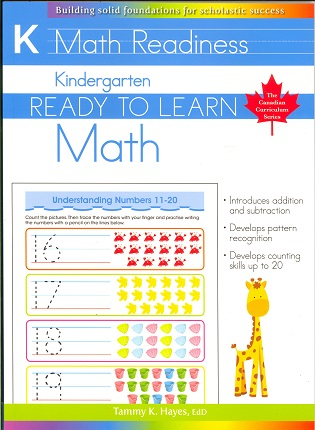 Kindergarten Math (Ready to Learn, Canadian Curriculum Series)