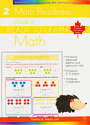 Grade 2 Math (Ready to Learn, Canadian Curriculum Series)