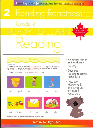 Grade 2 Reading (Ready to Learn Canadian Curriculum Series)