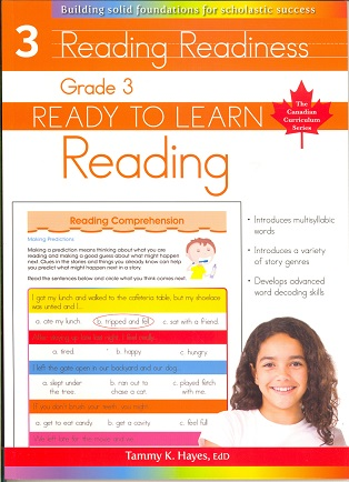 Grade 3 Reading (Ready to Learn, Canadian Curriculum Series)