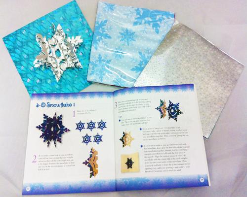 Snowflakes Origami Kit