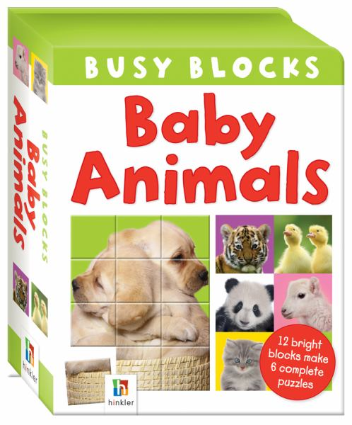 Baby Animals (Busy Blocks)