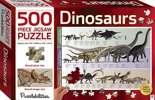 Dinosaurs: 500 Piece Jigsaw Puzzle (Puzzlebilities)