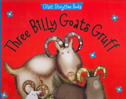 Three Billy Goats Gruff (Giant Storytime Books)