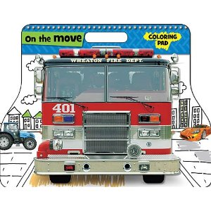 On The Move (Coloring Pad, Large)
