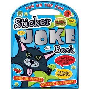 Sticker Joke Book  (Fun on the Run)