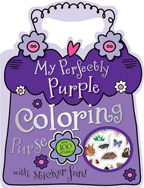 My Perfectly Purple Coloring Purse with Sticker Fun!