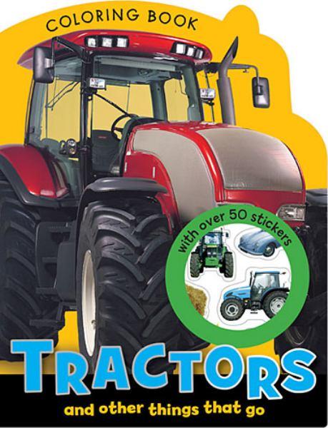 Tractors Mini Coloring Book
