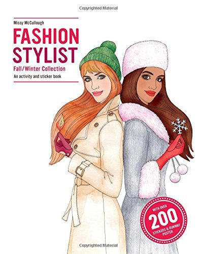 Fashion Stylist: Fall/Winter Collection Activity and Sticker Book