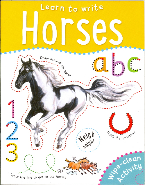 Horses Wipe-Clean Activity Book (Learn to Write)