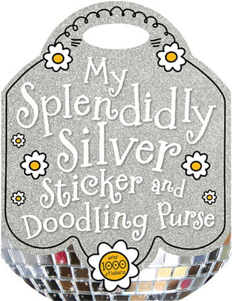 My Splendidly Silver Sticker and Doodling Purse