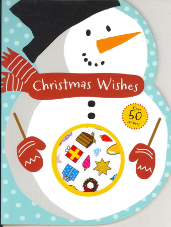 Christmas Wishes Coloring Book(Snowman)