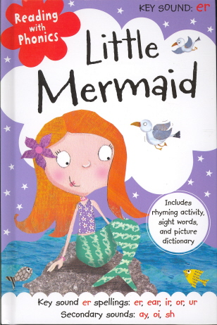 Little Mermaid (Reading with Phonics)
