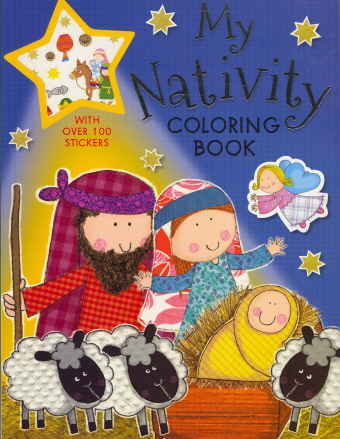 My Nativity Coloring Book