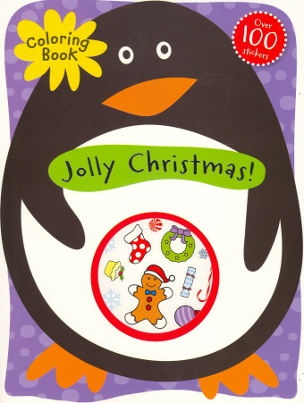 Jolly Christmas Coloring Book