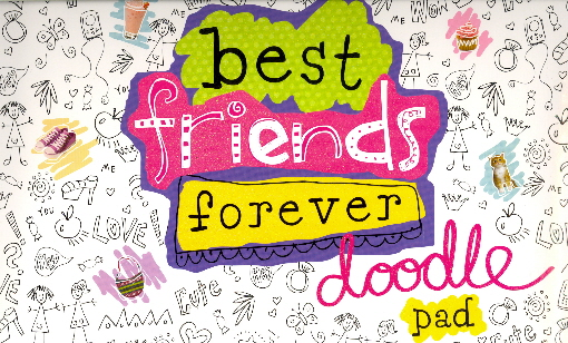 Best Friends Forever Doodle Pad Bookoutletcom