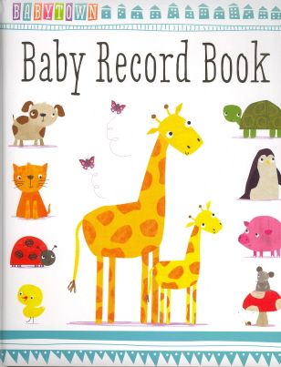 Baby Record Book (Babytown)