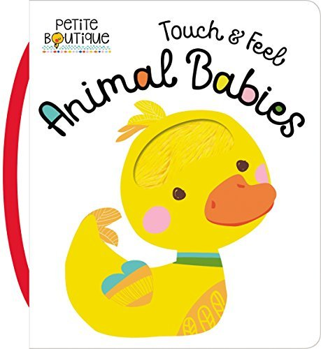 Touch and Feel Animal Babies (Petite Boutique)