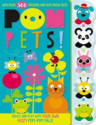 Pom Pets! Activity Book