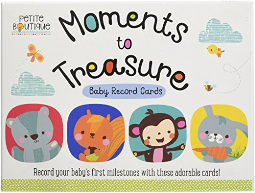 Moments to Treasure Baby Record Cards (Petite Boutique)