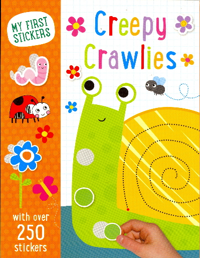 Creepy Crawlies (My First Stickers)