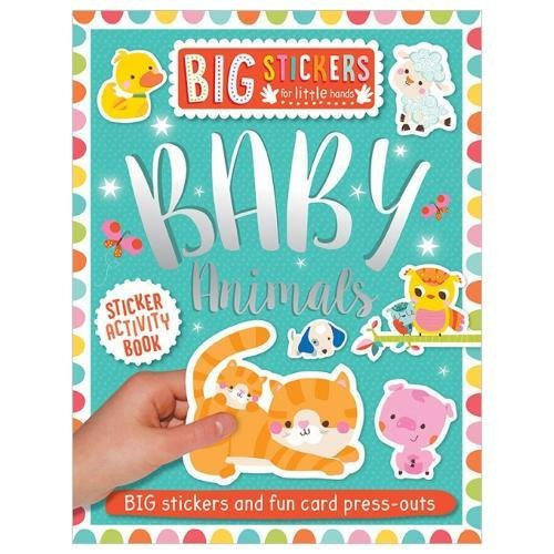 Baby Animals Sticker Activity Book (Big Stickers for Little Hands)