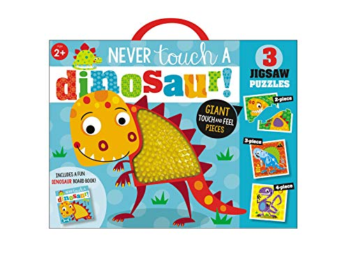 Never Touch a Dinosaur (Book and Puzzles)