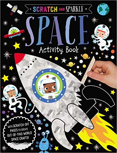 Space Activity Book (Scratch and Sparkle)