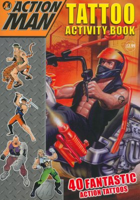 Tattoo Activity Book (Action Man)