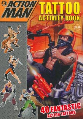 Tattoo Activity Book (Action Man)